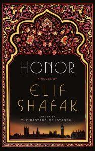 Honor book cover - best Elif Shafak Book